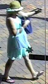 Have you seen this woman? Police would like to talk to her over a robbery in Mary St.