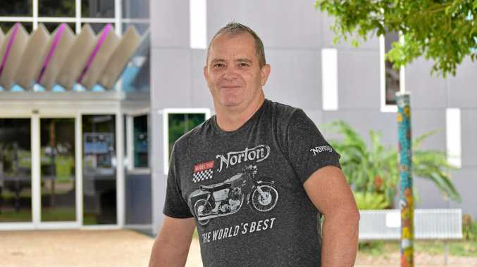 NEW DEGREE: Damien Moffat was one of the first to enrol in the new double degree at SCU Fraser Coast.