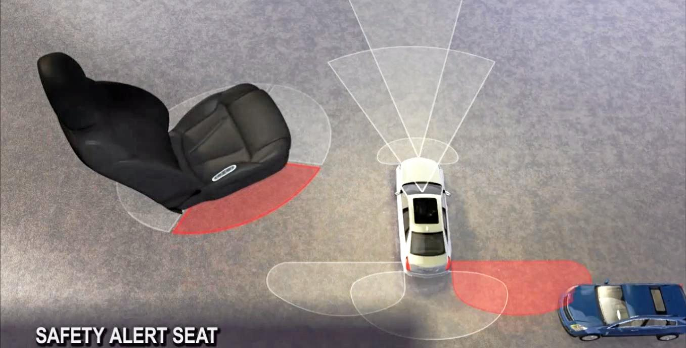 Safety seats are among the features in the new Holden Equinox.
