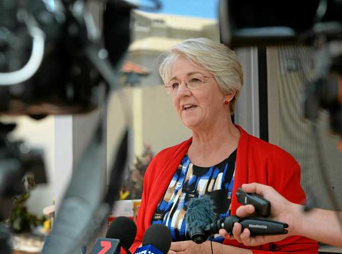 Margaret Strelow says the Government is offering Rockhampton crumbs when it comes to election promises.