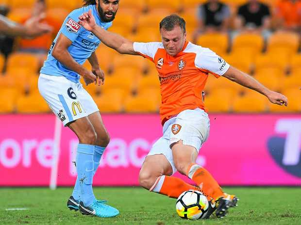 Brisbane Roar Defender Set For Lengthy Ban After Spitting Incident