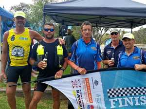 Tough but great fun: Yeppoon mates complete epic paddle