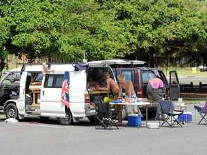 'Epidemic of hipsters': Carpark campers in firing line