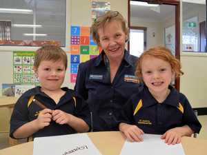 Last day of kindy signals start of new journey