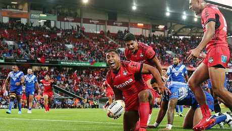 Jennings was superb early in the tournament for Tonga.