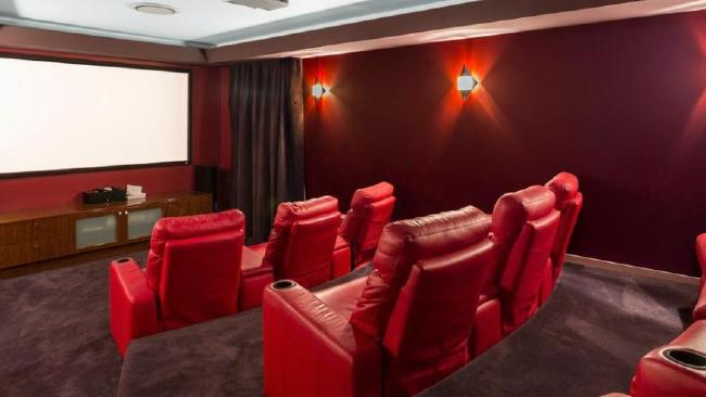 Enjoy a movie in your home cinema.