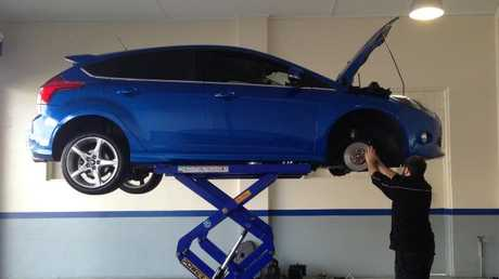The sky is no longer the limit when it comes to routine car service costs. Picture: Joshua Dowling.