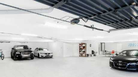 There's plenty of room for your cars with a 10-car basement.