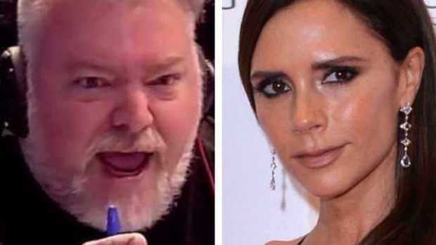 Kyle Sandilands accidentally hung up on Victoria Beckham in the early days of the Kyle and Jackie O show