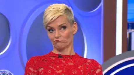 Jessica Rowe didn't appear too pleased when Joe Hildebrand interjected.