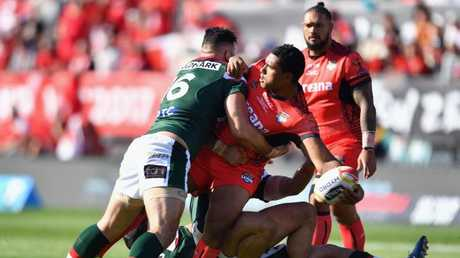 Pangai Junior was an invaluable bench weapon for the Tongans.