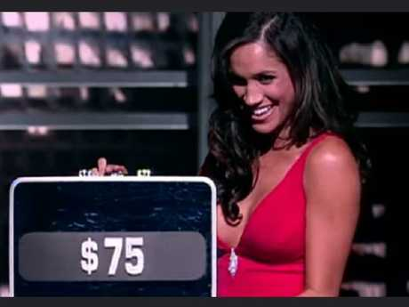 Markle appeared on Deal or No Deal.