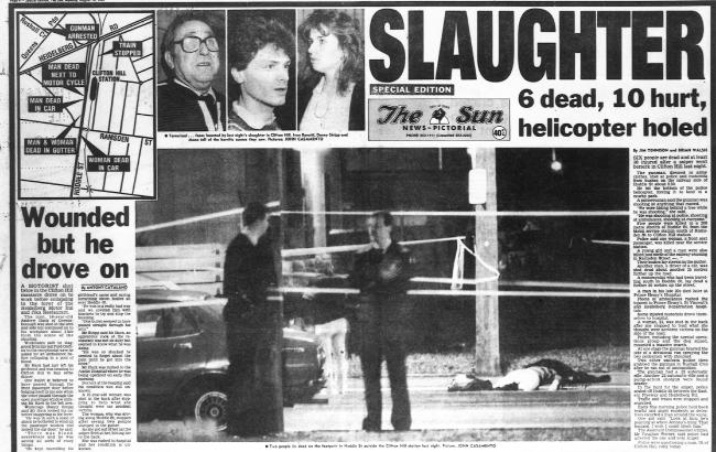 Melburnians were horrified at the news of the Hoddle Street killings. This is how  reported the killings in 1987