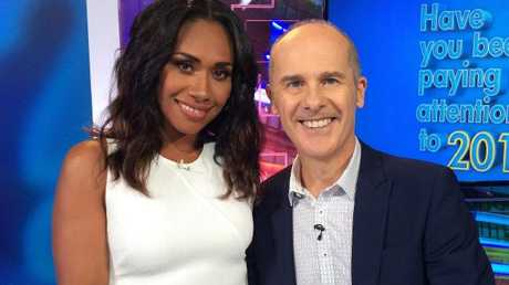 Paulini was a good sport on Have You Been Paying Attention?