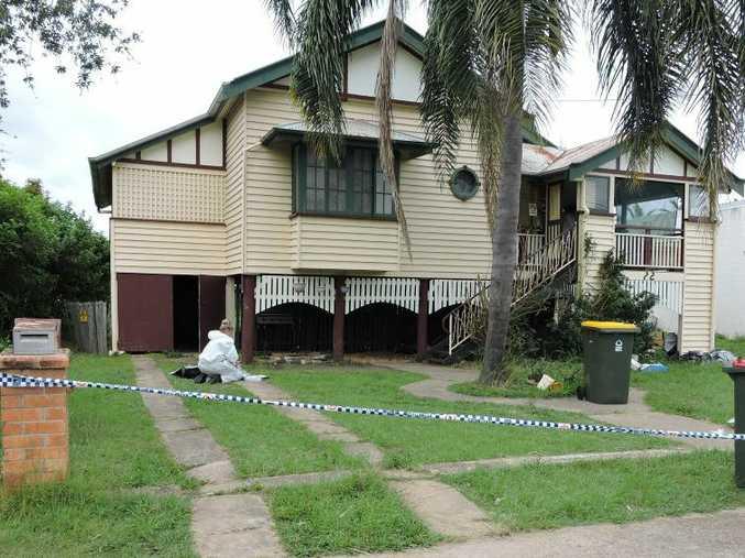 Alleged stabbing at 22 Ellena St, Maryborough