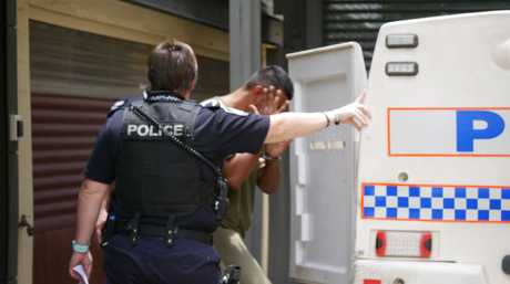 Mohammed Zaid Ali, 38, of Maryborough, heads back to jail after his appearance in Maryborough Magistrates Court.