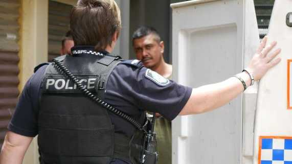 Mohammed Zaid Ali, 39, of Maryborough, heads back to jail after his appearance in Maryborough Magistrates Court.