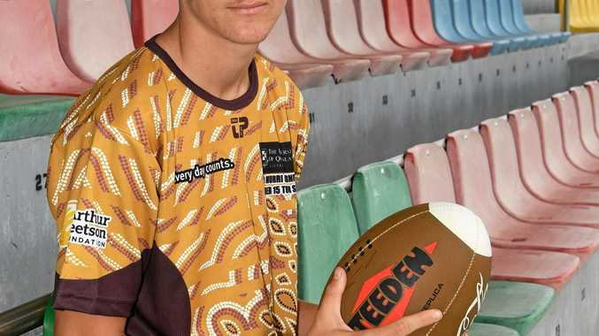 STATE CALLING: Bundaberg's Zac Laybutt will play for Queensland indigenous under-15 rugby league side next month.
