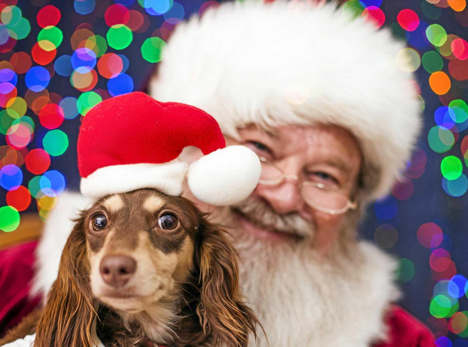 Santa is on his way!