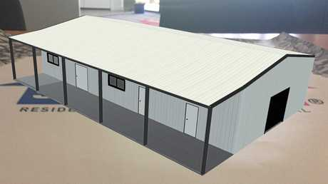 The planned new clubroom