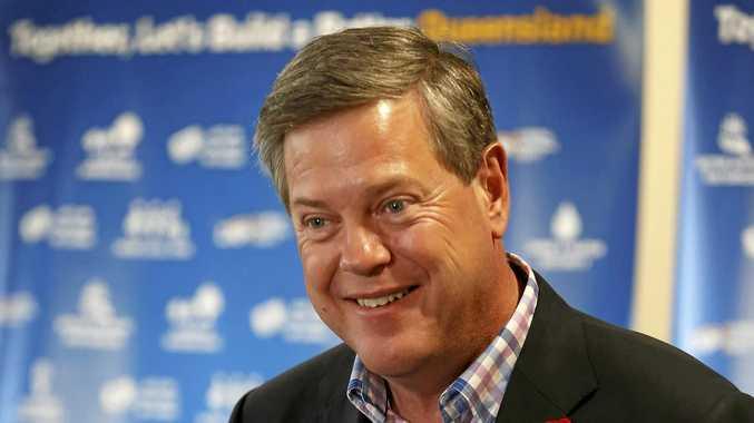 Queensland Opposition leader Tim Nicholls. (AAP Image/Regi Varghese)