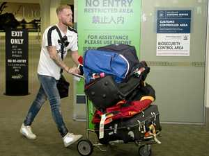 Stokes lands in NZ as ECB clears way for him to play