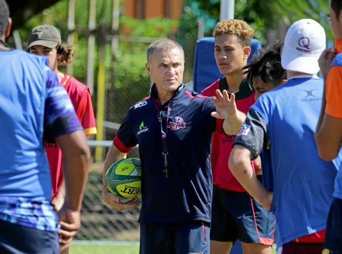 Paul Carozza has been appointed assistant coach at the Queensland Reds.