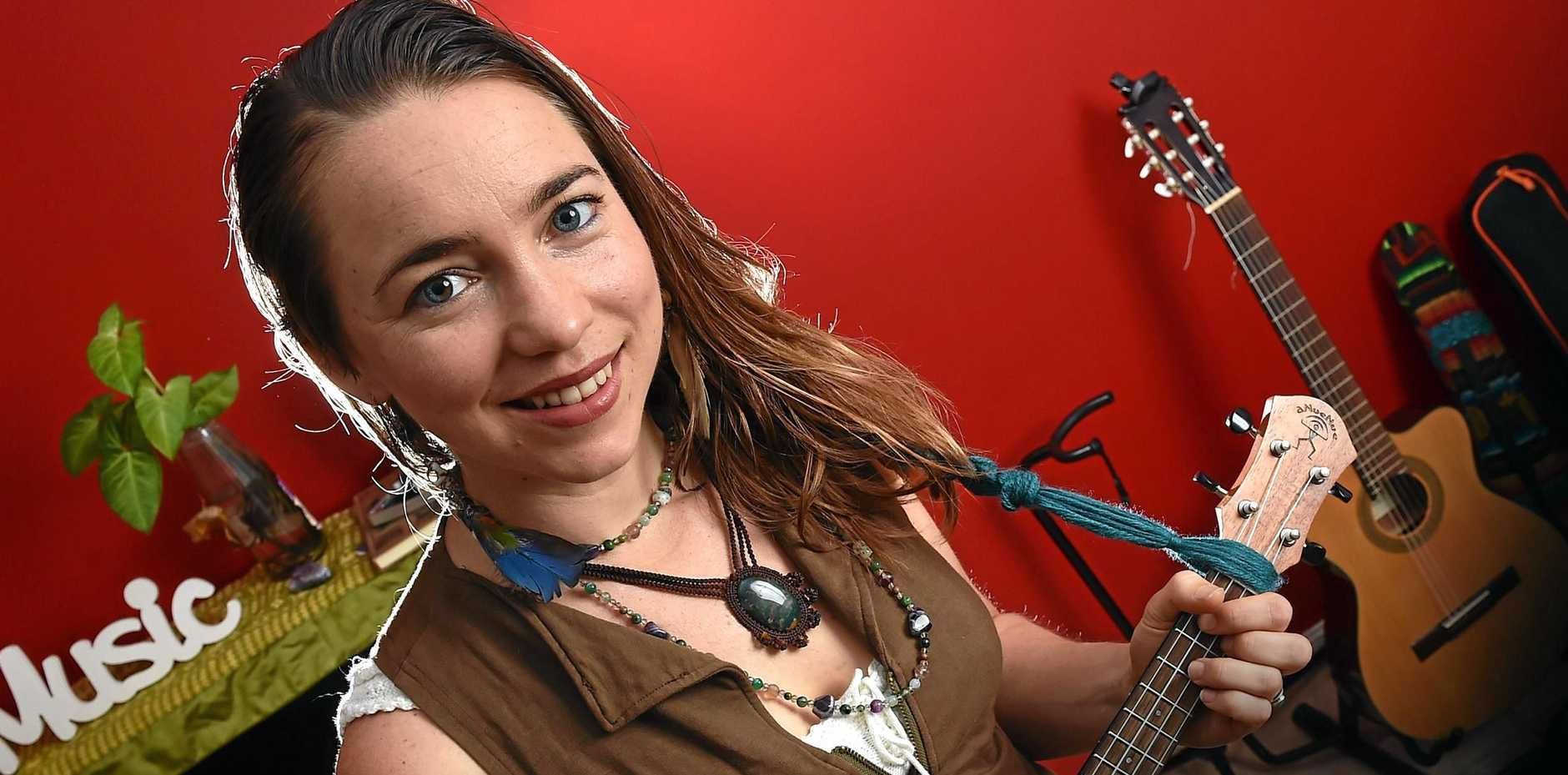 Natalie Noble has penned and performed a song to help support the Don't Rock The Maroochy campaign.