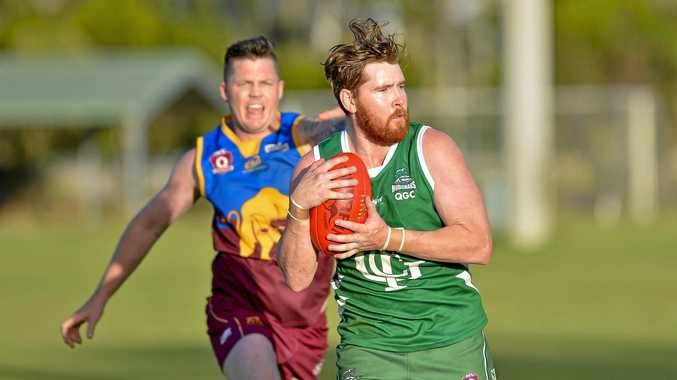 GRABBING THE CHANCE: That's exactly what Stephen Eilola aims to do at his new club Labrador in the QAFL next season.