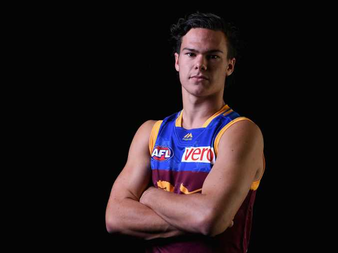 Cameron Rayner was selected by the Brisbane Lions on Friday night. Photo: Getty