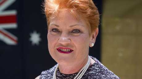 Ultimate power for Pauline Hanson? One Nation supporters appear to support installing a dictator in Australia. Picture: Glenn Hunt/AAP