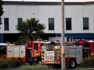 Max security prisoners on lockdown as fire rips through jail