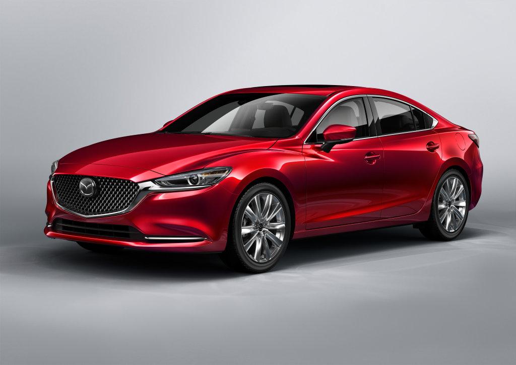 The 2018 Mazda6 was revealed at the 2017 LA Auto Show.