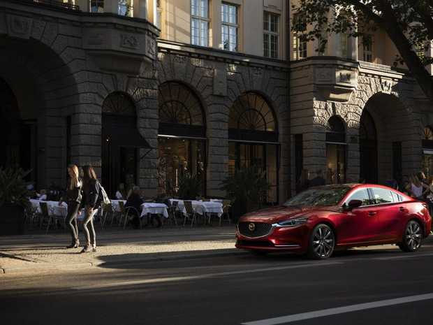 The 2018 Mazda6 was revealed at the 2017 LA Auto Show.