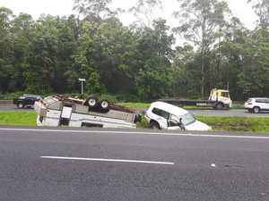 CARNAGE: Bruce Hwy, David Low Way crashes, mass power cuts