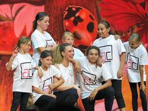 Young dancers step up
