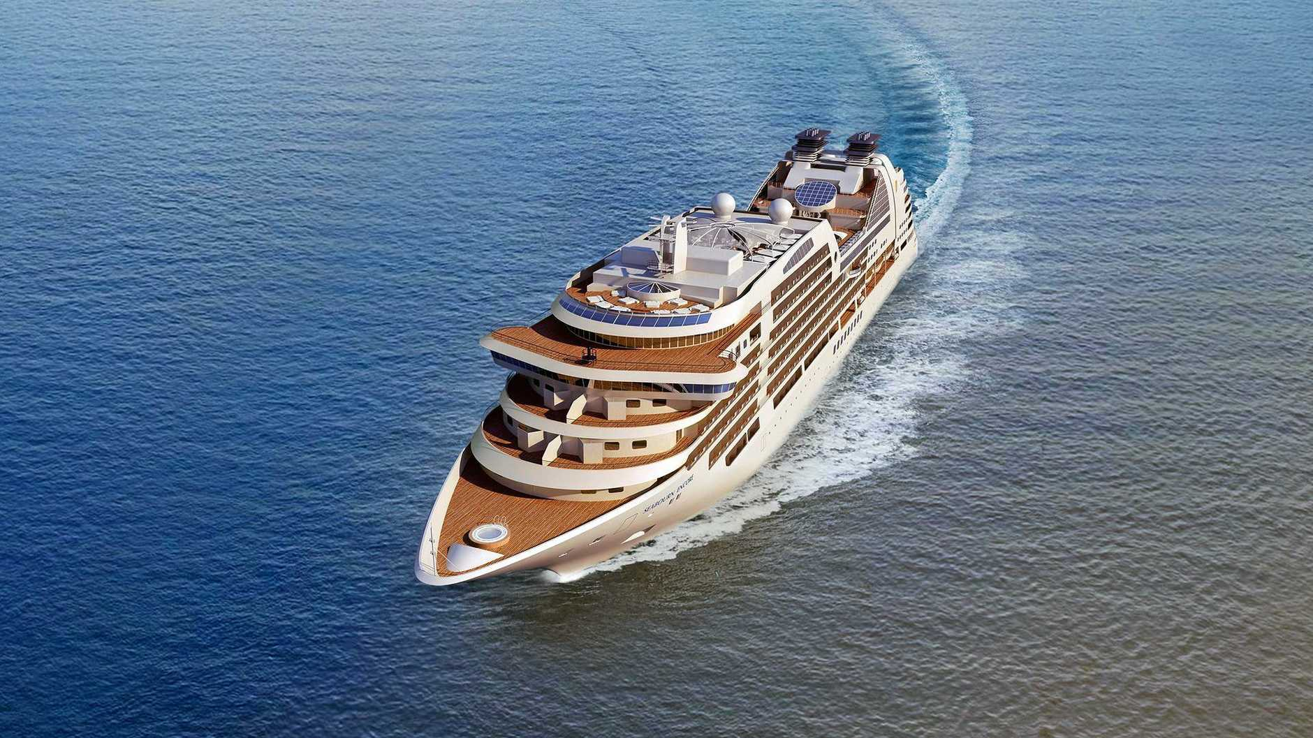 The Seabourn Encore travelling from Singapore to New Zealand will stop in at Mooloolaba this Saturday.