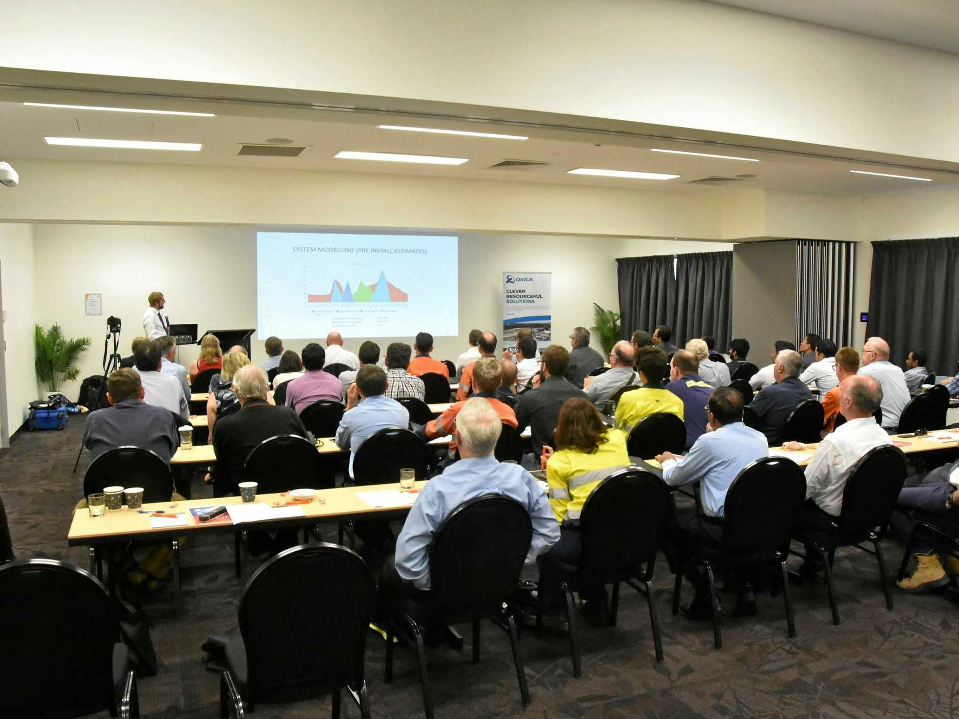 Engineers Australia - Central Regional Forum on energy opportunities in Central Queensland and future energy policy at the Gladstone Entertainment Convention Centre.