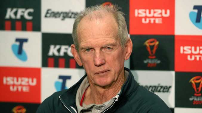 Wayne Bennett says he hasn't thought about staying on as England coach after Saturday night's Rugby League World Cup final against Australia.