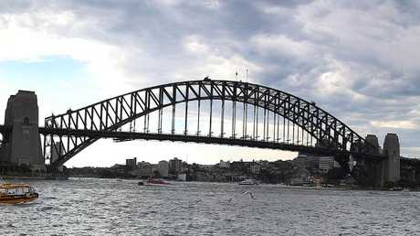 There's life across the bridge: The research shows life expectancy is longest in North Sydney. Picture: AAP
