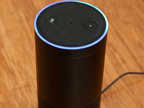 Amazon's Echo smart speakers will arrive in Australia early next year. Picture: Ian Currie