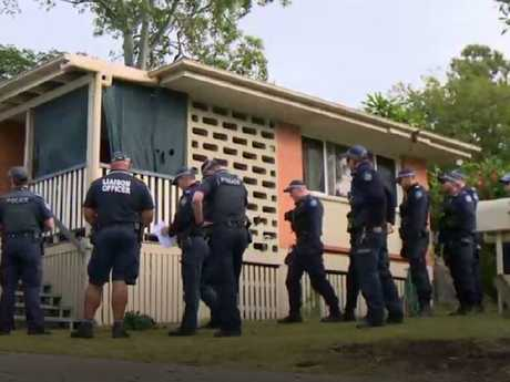 More than 20 police officers stormed Ms Boyd's home on Struggle Street