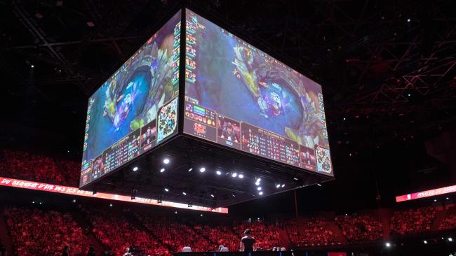 The League of Legends World Championships is like the World Cup for computer gamers. Picture: AFP