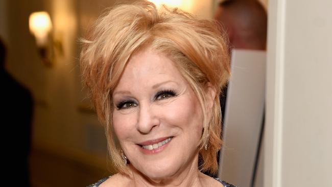 Bette Midler at the 2017 Tony Awards, where she won  Best Actress in a Musical for Hello, Dolly! Footage has emerged of the star alleging she was groped by Geraldo Rivera.