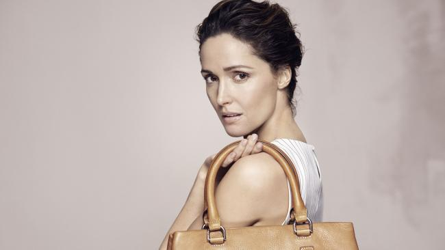 Actor Rose Byrne war once an ambassador for Oroton.