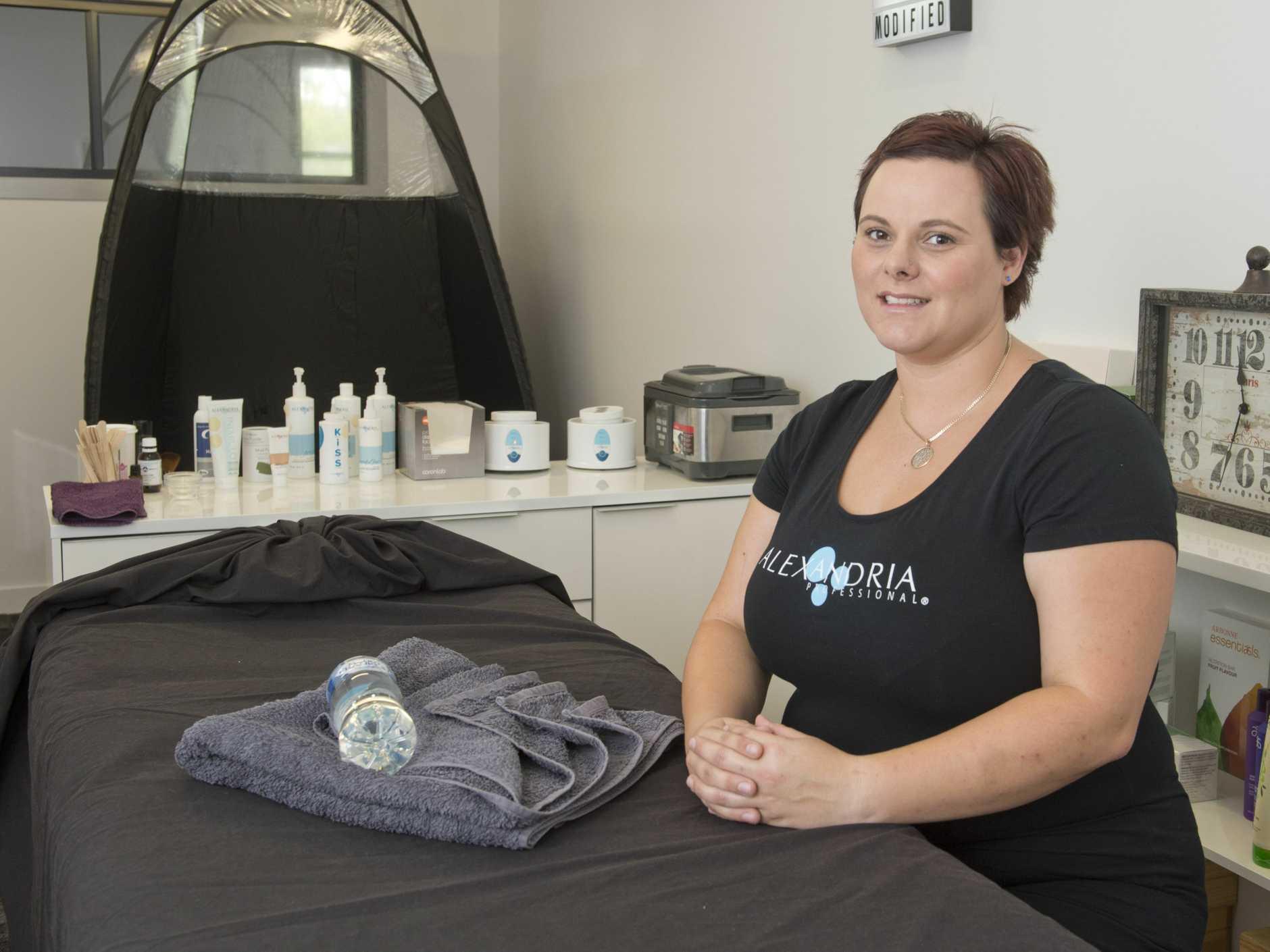 Toowoomba massage therapist Michelle Doole