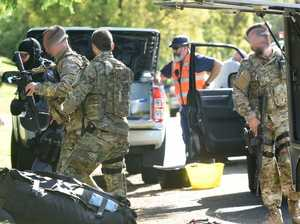 PHOTOS: Armed stand-off during tense hostage situation