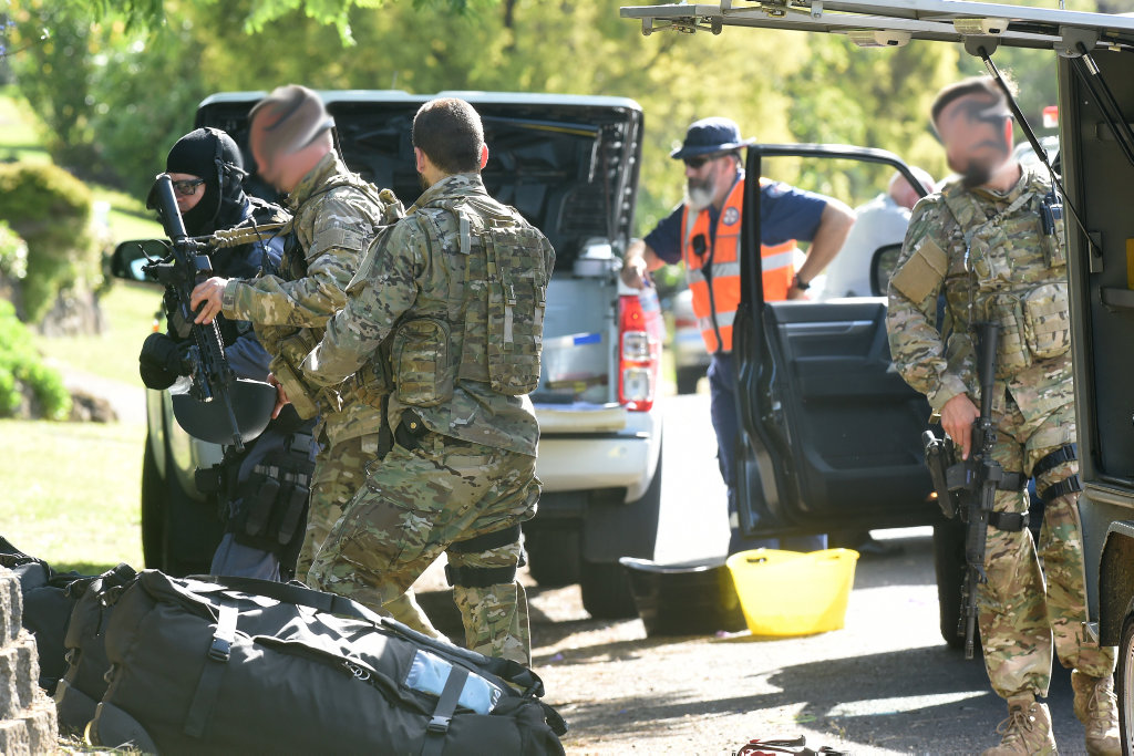 A man involved in an alleged hostage situation at Goonellabah last week will face court today.