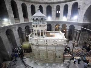 Is this where Jesus was buried?