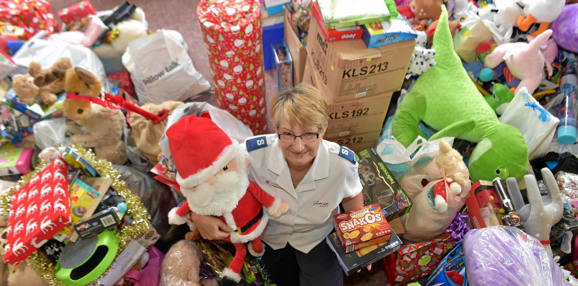 SUPPORT: Rosemary Campbell from the Nambour Salvation Army.